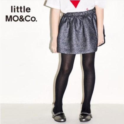 littlemoco 女童金属幻彩色半身裙